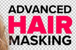 Portfolio for pro photoshop hair masking service