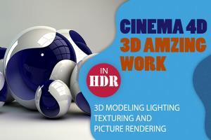 Portfolio for I will do amazing 3d work in Cinema 4D