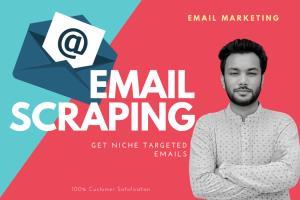 Portfolio for Targeted Email List Building
