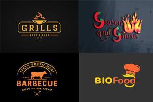Portfolio for I will design fast food, restaurant logo