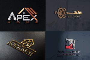Portfolio for I will design real estate logo in 12 hrs