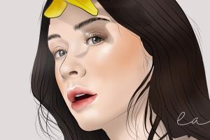Portfolio for Portrait illustration/digital painting