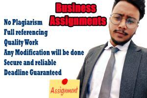 Portfolio for I will write business essays and reports