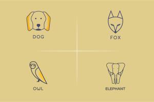 Portfolio for Minimal awesome animal logo