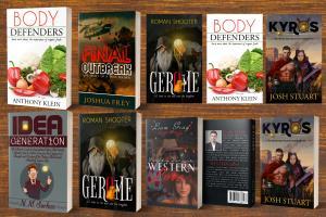Portfolio for Professional book cover and ebook design