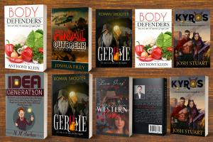 Professional book cover or ebook cover design