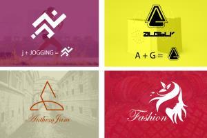 Portfolio for i will design uniqe  logo
