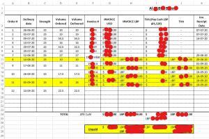 Portfolio for Data Entry and Organization