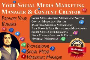 Portfolio for Social Media Marketing Manager