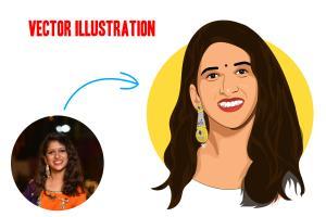 Portfolio for Vector Illustartion / Cartoon