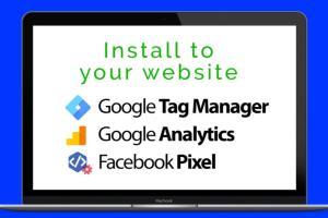 Portfolio for Fcebook PIXEL,Google TAG MANAGER,