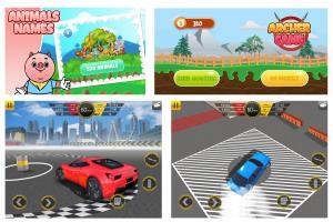 Portfolio for 2D game graphics and GUI design