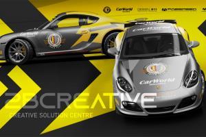 Portfolio for Motorsport Livery Design