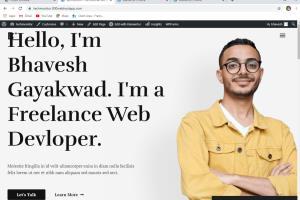 Portfolio for Web Designer & Wordpress Devloper