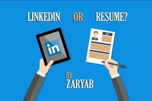 Portfolio for Resume cover letter and LinkedIn Profile