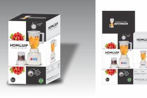 Portfolio for product box packaging design