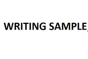 Portfolio for Writing, Editing, Typing, PPT