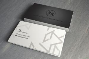 Portfolio for I will do luxury business card design