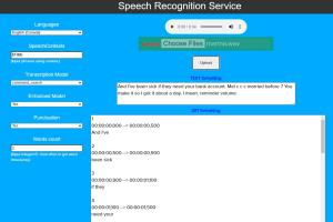 Portfolio for Speech Recognition and Processing