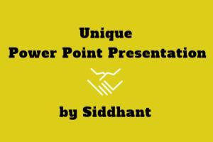 Portfolio for Power-point Presentation Design/Edit