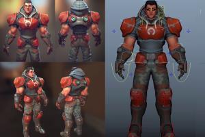 Portfolio for 3D Rigging Maya, Unreal Engine or Unity