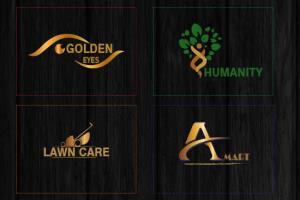 Portfolio for create creative and eye caching logo