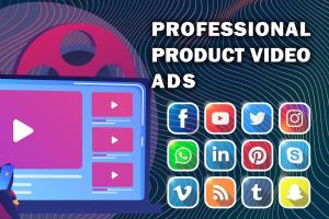 Portfolio for professional video ad for your business
