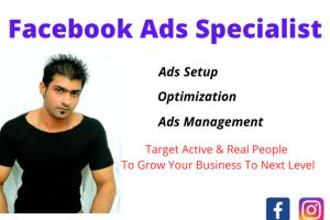 Portfolio for Facebook Ads & Marketing Specialist