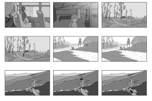 Portfolio for Animator, storyboard artist, Illustrator